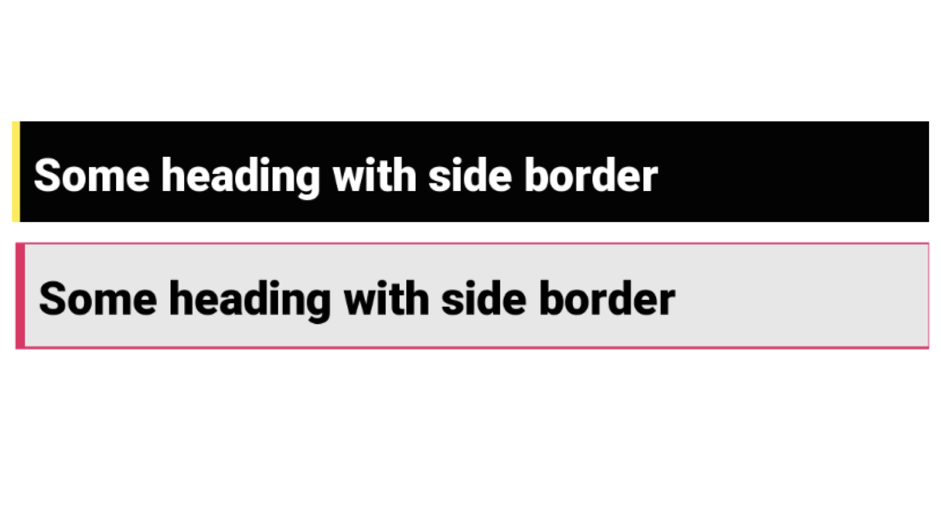 Add border to just one side of View – Android
